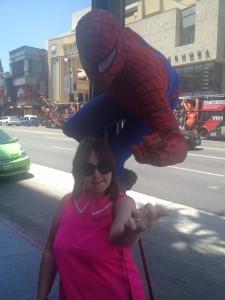 Just everyday superhero in Hollywood